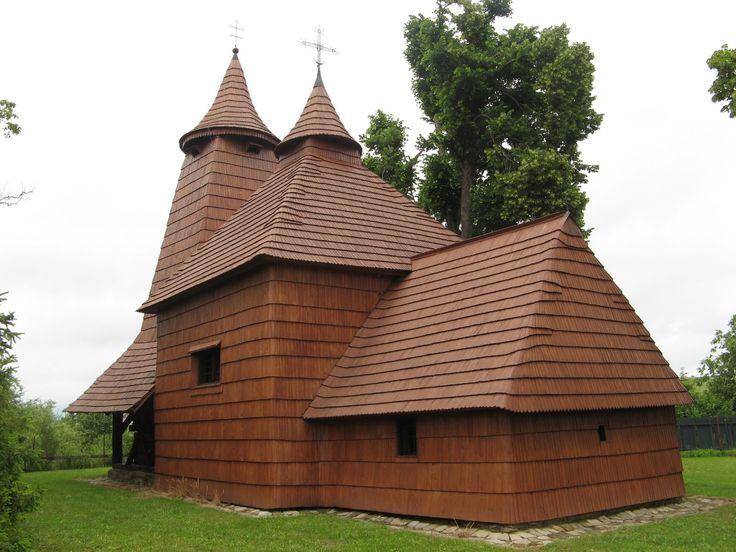 Tročany, located south of Bardejov in eastern Slovakia