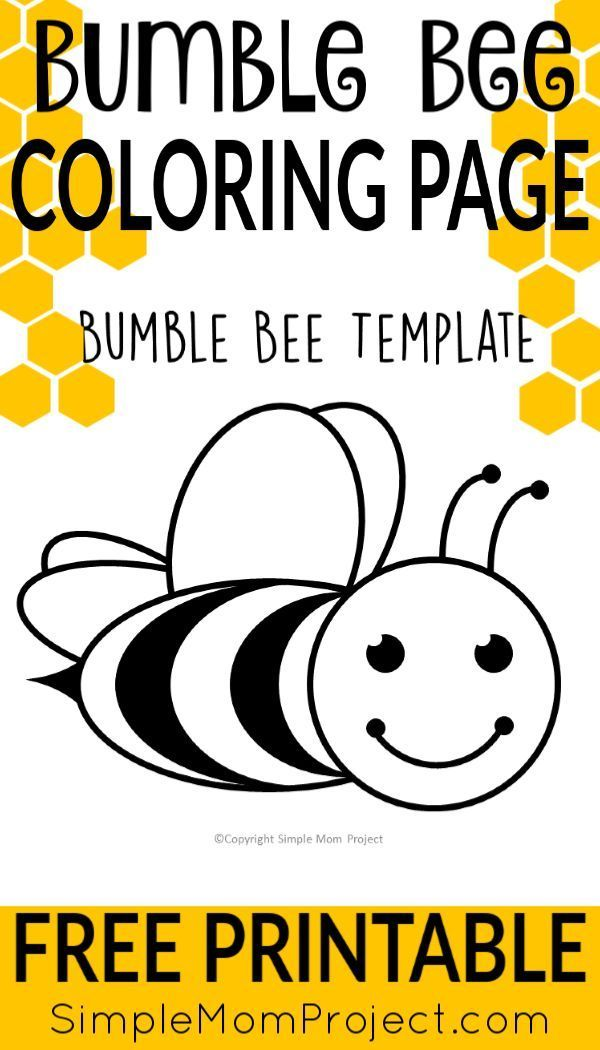 Cartoon bumble bee coloring pages – Jerezdelafrontera.info | 1050x600