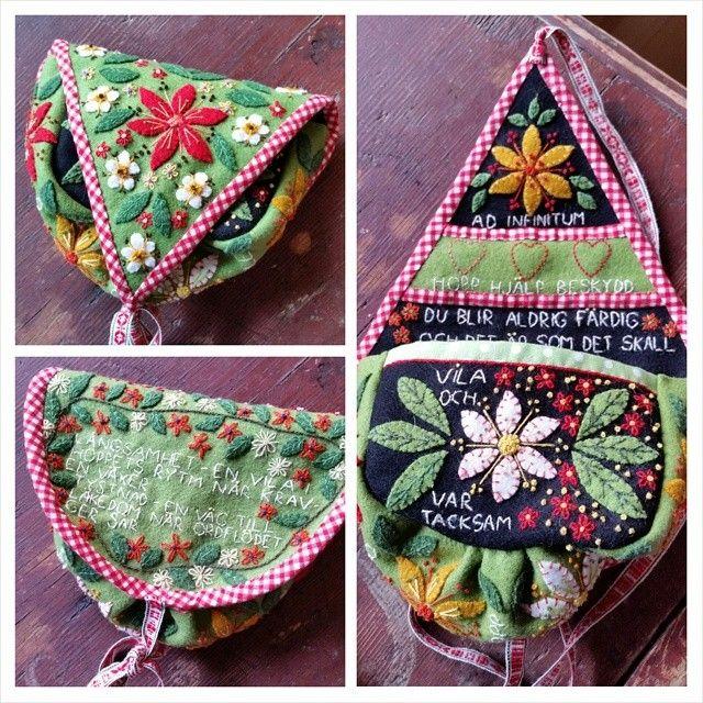 Nu är den klar, min grannlåtsmaschma. #mashma #maschma #marsma #grannlåt #broderi #embroidery #yllebroderi
