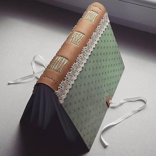 ardeas / Zápisníky s koženým chrbtom A5 - Bodky