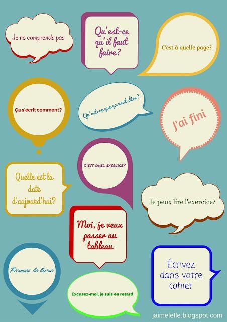 Communiquer en classe. Élève.   http://jaimelefle.blogspot.com.es/2015/04/communiquer-en-classe.html