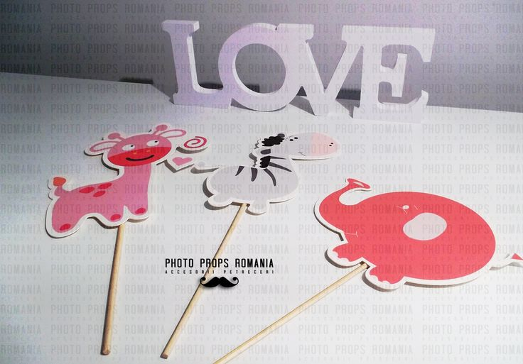 SAFARI theme - photo booth props  https://www.facebook.com/PhotoPropsBucuresti