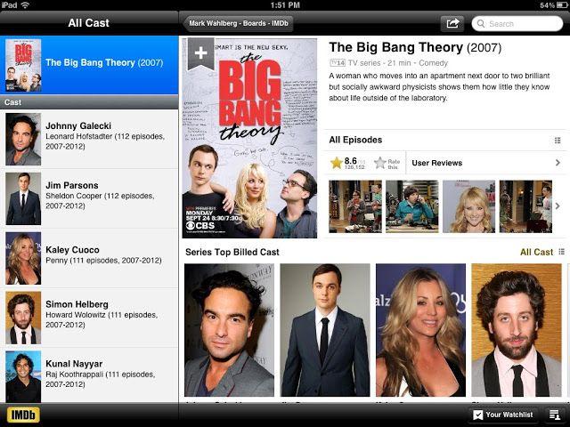 The big bang theory nota imdb