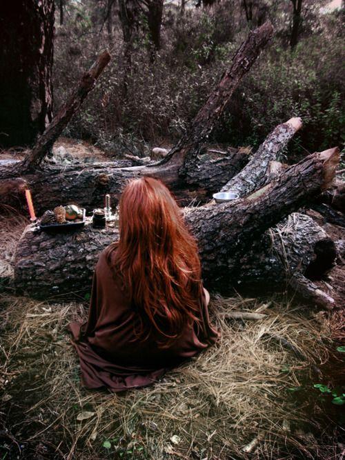 Woodland altar...