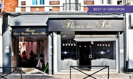 Proche Lille : 1 nuit en chambre double ou suite avec balnéothérapie privée et sauna à l'hôtel Fleur de Sel pour 2 pers.