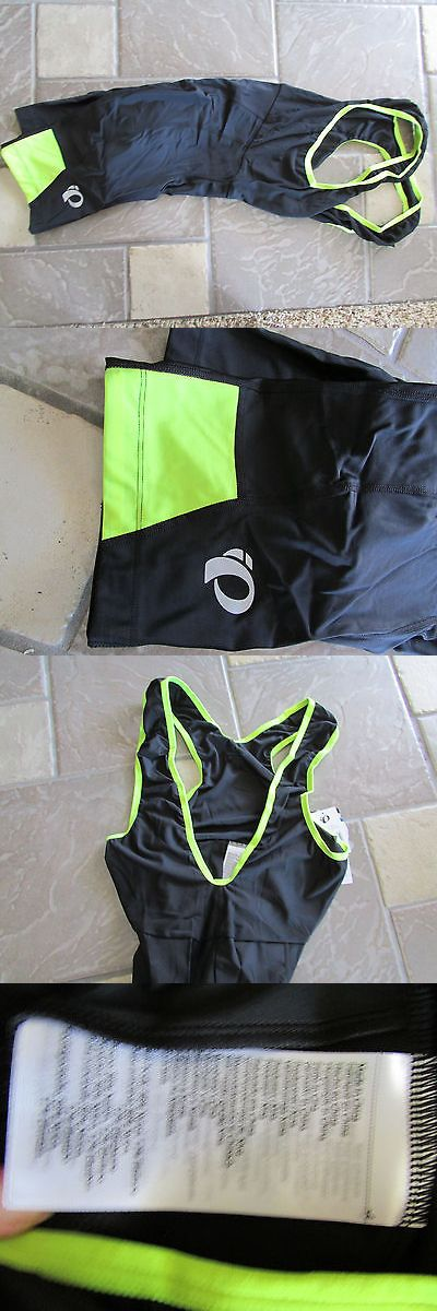 Shorts 177853: New Pearl Izumi Quest Splice Bib Shorts Biking Cycling Bibs Shorts Mens Xl -> BUY IT NOW ONLY: $59.5 on eBay!
