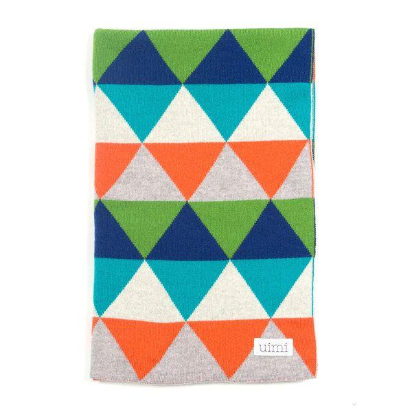 Indiana blanket - Marmalade - folded