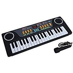 Piano for Children, aPerfectLife Multi-function 37 Key Electronic Organ Music Keyboard Small Electronic Keyboard Piano Organ Musical Teaching Keys Keyboard Toy With Microphone For Kids Children Gift. -- Continue to the product at the image link. We are a participant in the Amazon Services LLC Associates Program, an affiliate advertising program designed to provide a means for us to earn fees by linking to Amazon.com and affiliated sites.