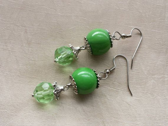 Check out this item in my Etsy shop https://www.etsy.com/listing/232601688/august-birthstone-green-peridot-earrings