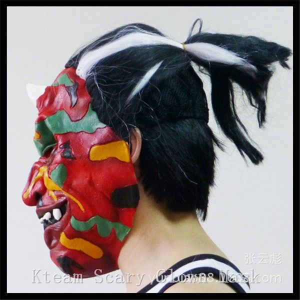 Free shipping Colorful Scary Clown Mask Full Face Cosplay Horror Masquerade Adult Ghost Mask Halloween Props Costumes Face Mask  http://playertronics.com/products/free-shipping-colorful-scary-clown-mask-full-face-cosplay-horror-masquerade-adult-ghost-mask-halloween-props-costumes-face-mask/