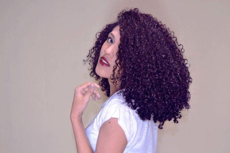 UPDATE - Como pintar o cabelo de Roxo com Violeta Genciana - Desventuras de uma Cacheada