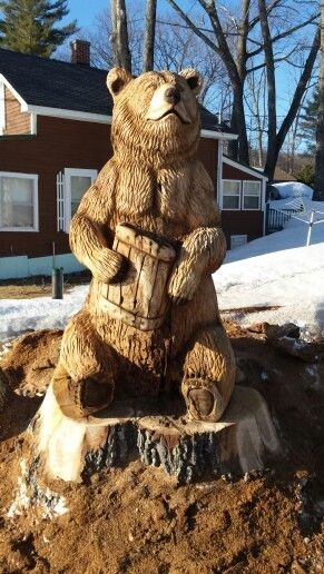 Best images about Медведи on pinterest sculpture