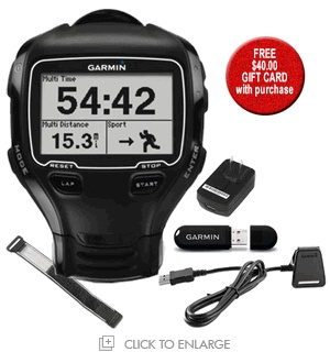 Garmin Forerunner 910XT Multisport GPS Training Watch