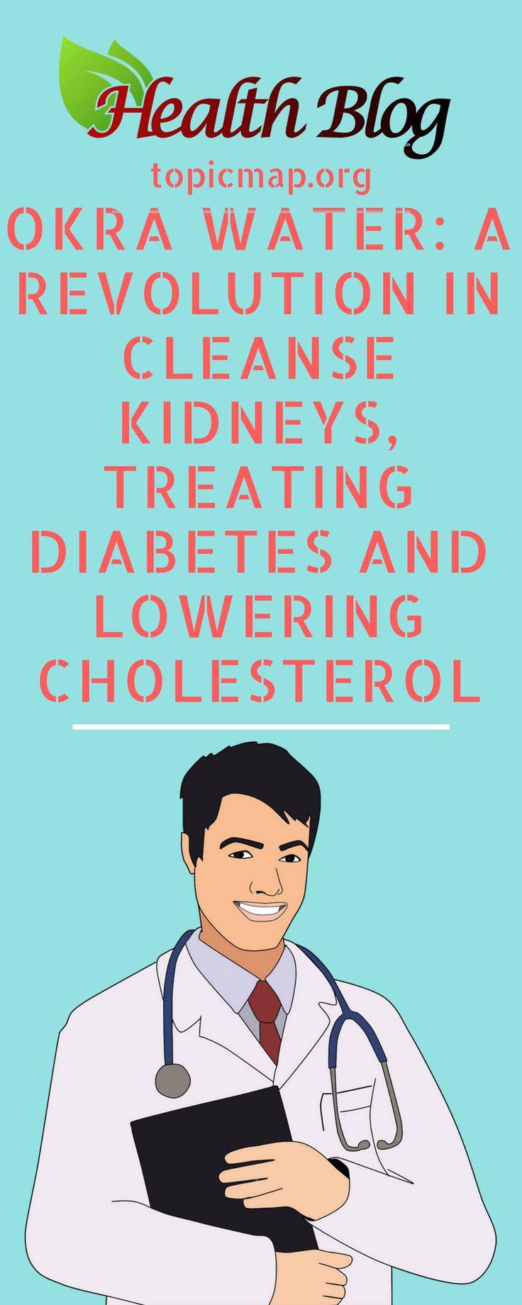 Okra Water: A Revolution In Cleanse Kidneys, Treating Diabetes And Lowering Cholesterol