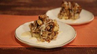 Cinnamon Raisin Bread Pudding Recipe | The Chew - ABC.com http://abc.go.com/shows/the-chew/recipes/cinnamon-raisin-bread-pudding-clinton-kelly