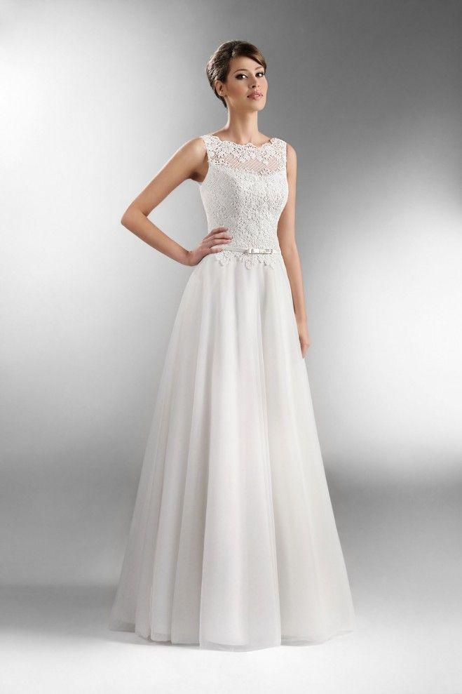 The One 2016 - Kolekcja sukni ślubnych Agnes - koronkowe suknie ślubne