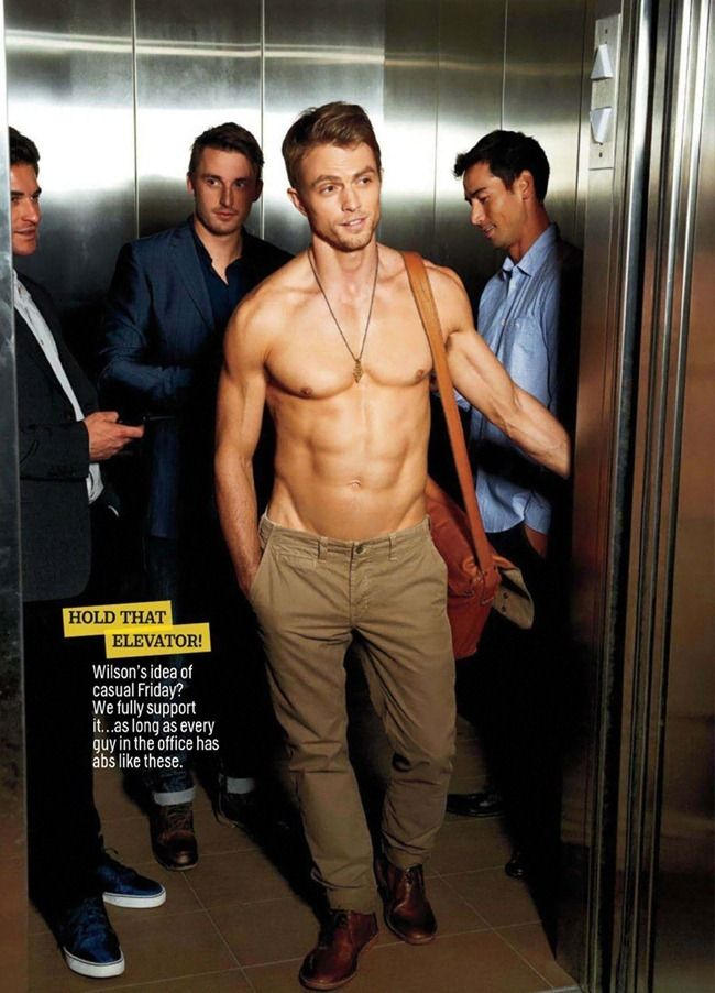 Wilson Bethel -- DAAAAYUUUM SON lol -- part of the reason I watch Hart of Dixie
