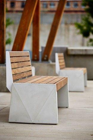 Strata Beam Bench   Street Furniture, UK #urbanfurniture #streetfurniture  #landscapeforms #publicseating