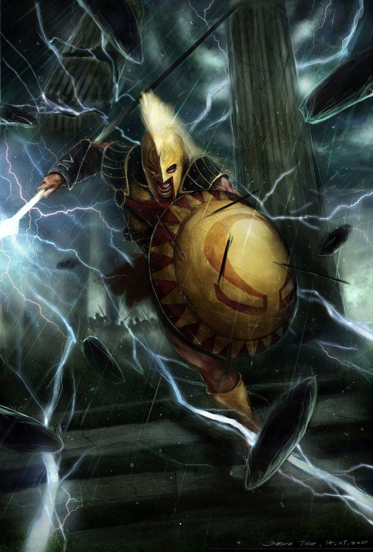 High dawnknight tlinthar regheriad lathander paladin iluskan order - Ares God Of War Artist Johnson Ting