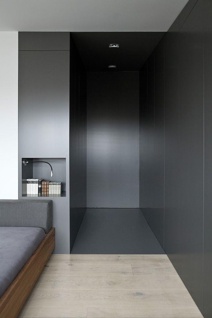 bedroom grey entrance
