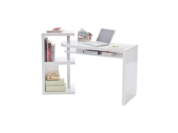 MATTIS Skrivbord Vit - Skrivbord - Kontor - Inomhus