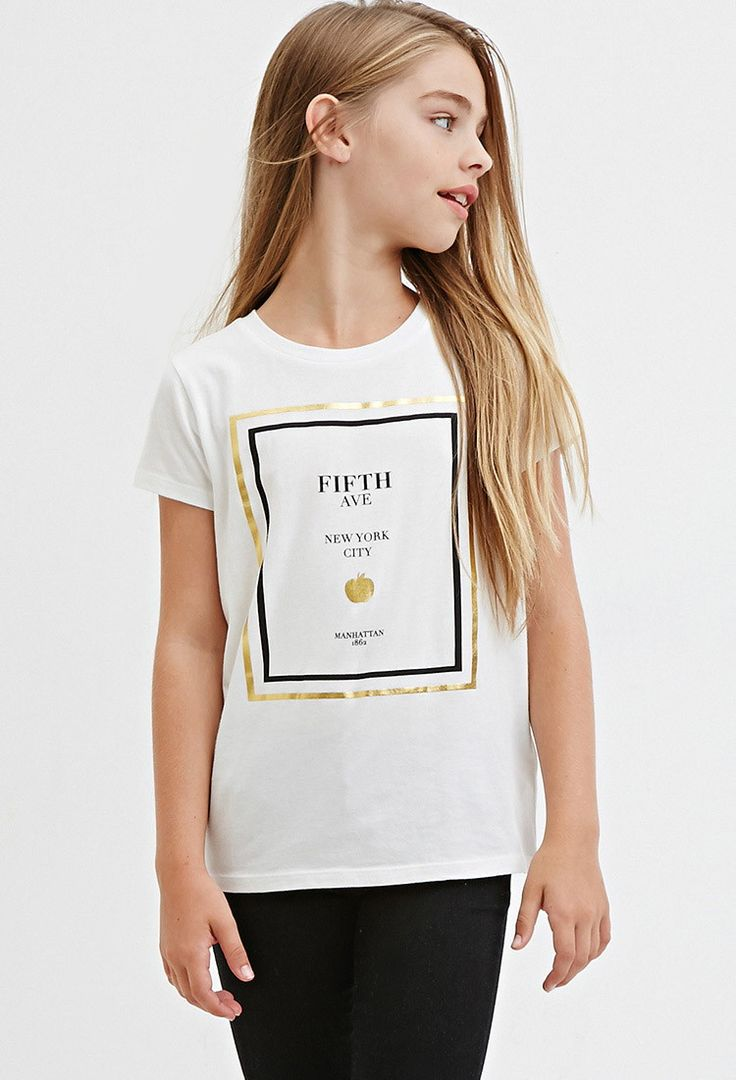 Girls Fifth Avenue Graphic Tee (Kids)