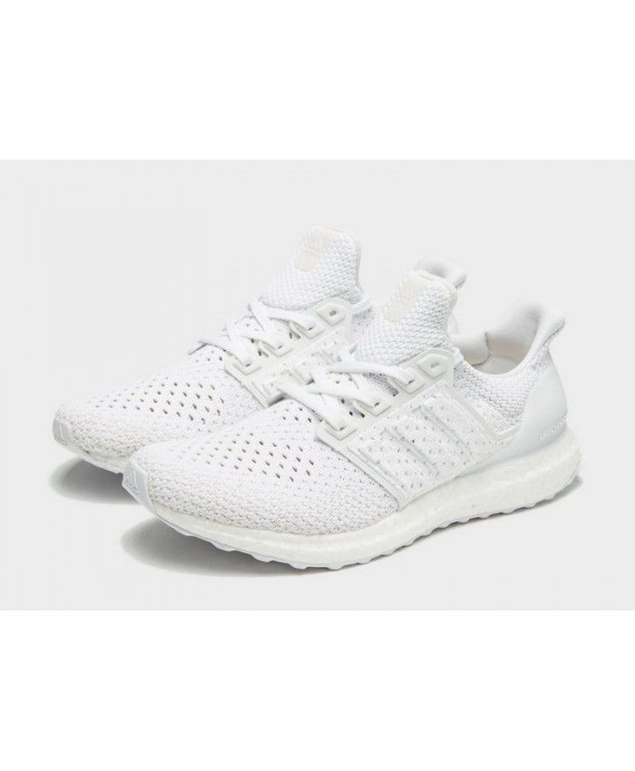 a405fda393a75 Outlet Men s Adidas Ultra Boost Clima White Sneakers UK Online Shop