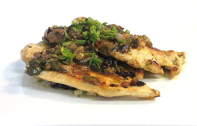 Cooking with Corey: Recipe #162: Chicken with Lemon-Caper Sauce (Pollo con Salsa di Capperi e Limone)