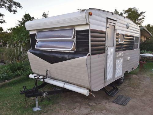 Vintage Retro Viscount Caravan Annex Fishing Surf Beach Trailer RV Weekender Camper Kidston Chic For Sale on Ebay.