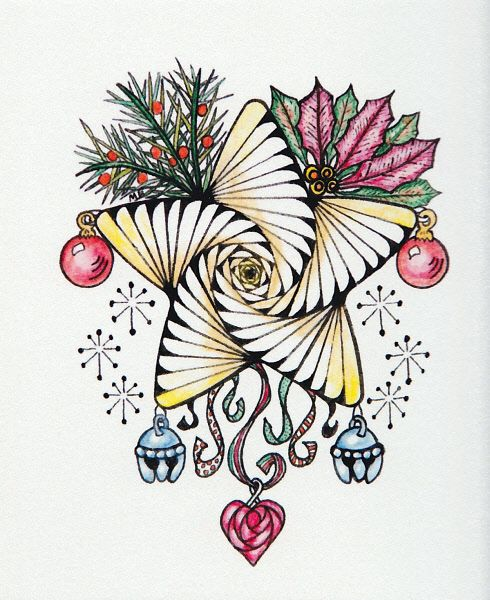 Zentangle Christmas Star