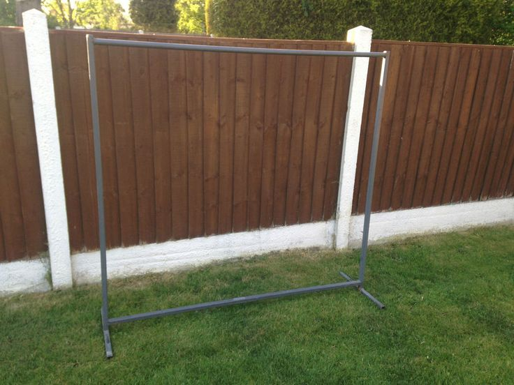 FREESTANDING HEAVY DUTY CLOTHES RAILS. COLLECTION FROM S66. | eBay!