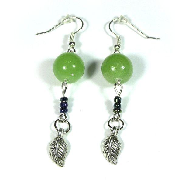 Chandelier Earrings – Earrings with an olive Jadeit – a unique product by betulek on DaWanda  #earrings   #kolczyki   #jewelry   #jewellery   #gift   #beauty   #fashion   #style   #instagood   #quality #trendy #handmade   #handmadejewelry   #buyhandmade   #earings   #betulek   #bybetulek   #jewel   #look  #greenery