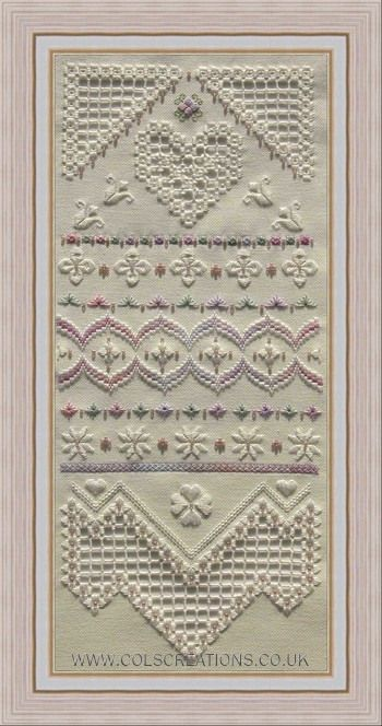 Col's Creations - Traditional Hardanger Designs. I haven't tried Hardanger YET but it is on my list of upcoming projects!
