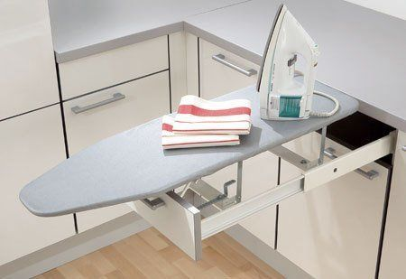 Small space solutions ironing boards and blankets - Ironing boards for small spaces pict ...