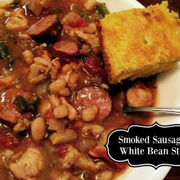 ... white beans soups forward smoked sausage white bean stew smoked