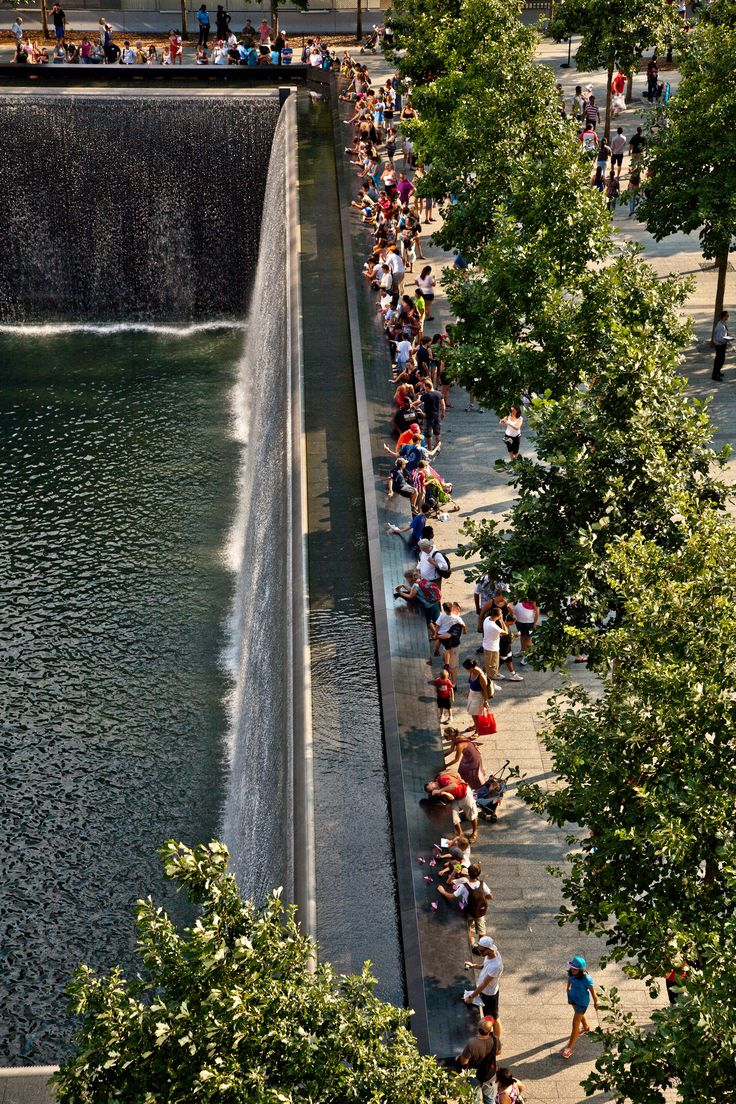 Gallery of National September 11 Memorial / Handel Architects with Peter Walker…