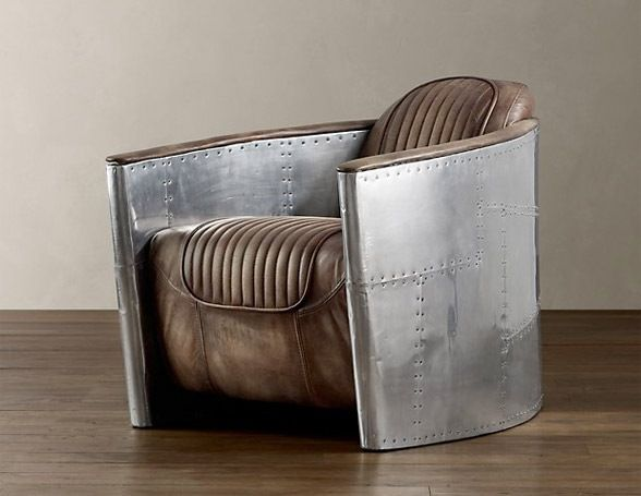Aviator Furniture Collection by Restoration Hardware