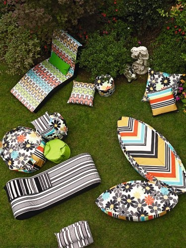 Missoni Home at Maison - From fabrics to furnishing along the thread #outdoor