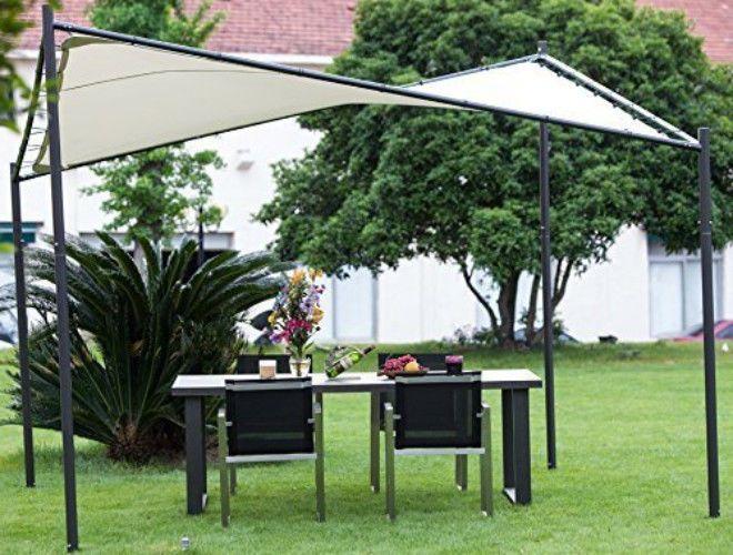 pergola canopy steel gazebo large