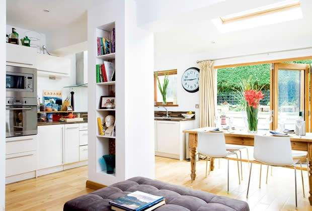 1930s extension project | Real Homes open plan kitchen