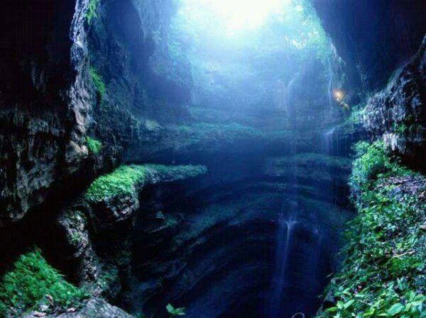 Greece, Melissani Cave