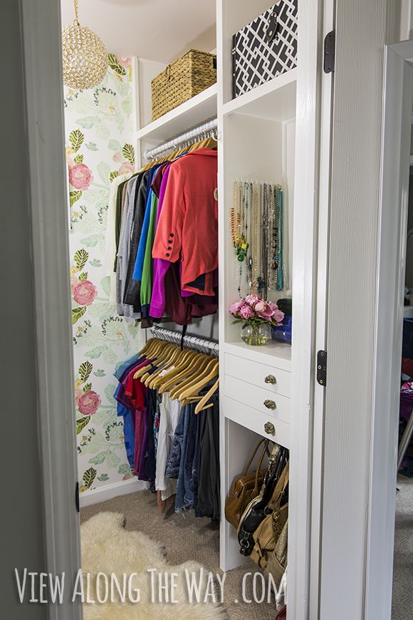 Completely DIY closet on a budget Turn