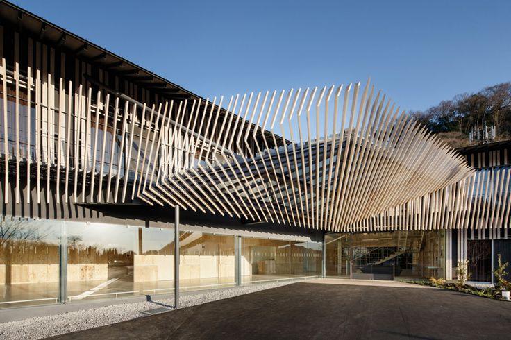 kengo kuma finalizes timber clad nursing home in kanagawa - designboom | architecture