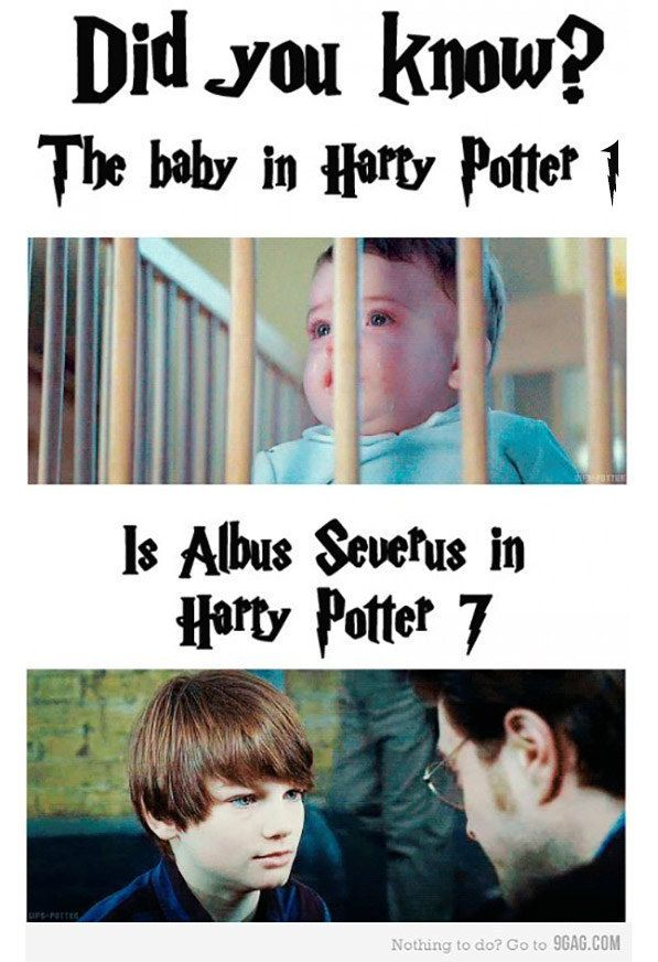 This is not a true fact about the casting of the Harry Potter films. | 35 Viral…