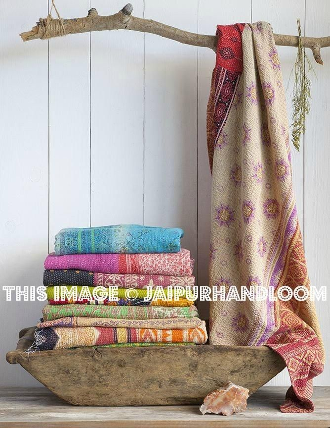 Boho Home Decor Guide of  2018: #kanthathrow #kanthaquilt #indianquilt #vintagekanthaquilt #vintagekanthathrow #queenkanthathrow #handmadekanthabedding #indianquilts #kanthaquilt #twinkanthathrow #fairtradekanthathrow #wholesalekanthathrow #kanthashop #kanthasale #patchworkkanthaquilt #bohemiankanthablanket #kanthablanket #kanthabedspred #weddinggift #indianbeddingset #kanthabeddingset #kanthacurtains #kanthayogamat