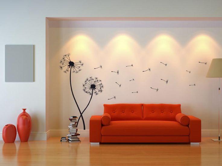 Adesivi murale Due denti di leone #adesivi murali #stickers #parete #home #decor #decorazioni