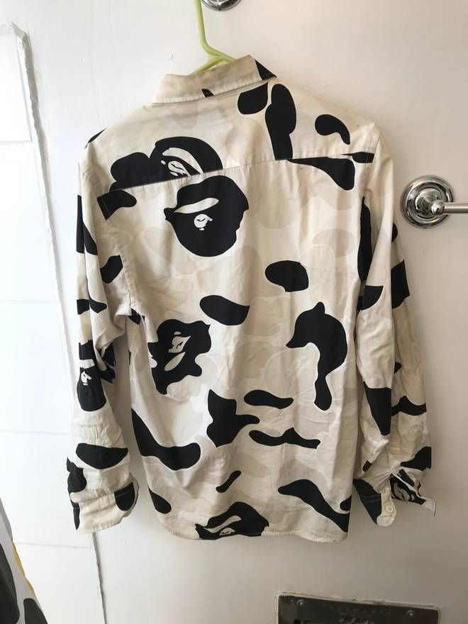 290f3149 Cow Camo | My hands are made of spiders | Bape, Camo, Cow