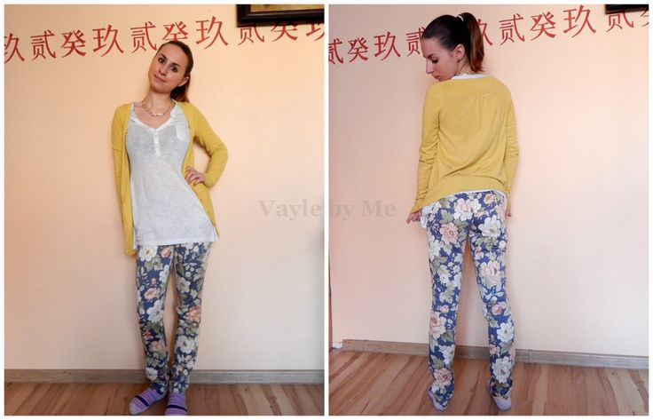 Hand made floral pants by Vayle