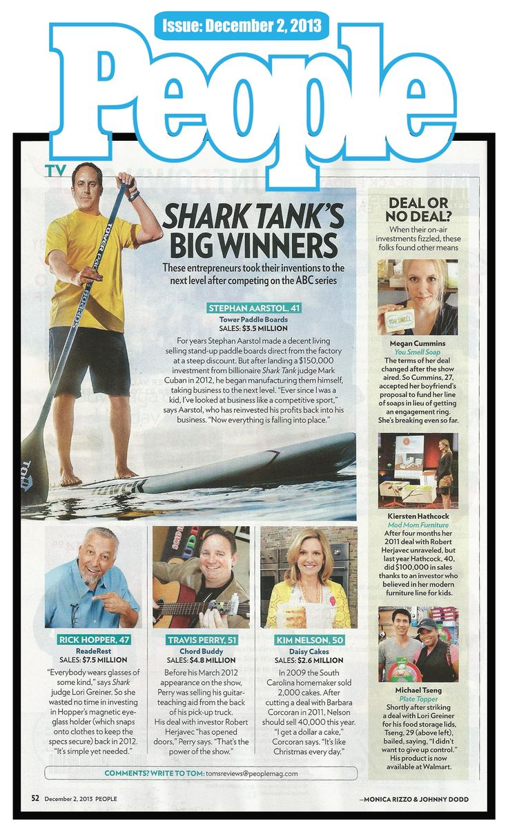 Lucky to be named among Shark Tank Successes!