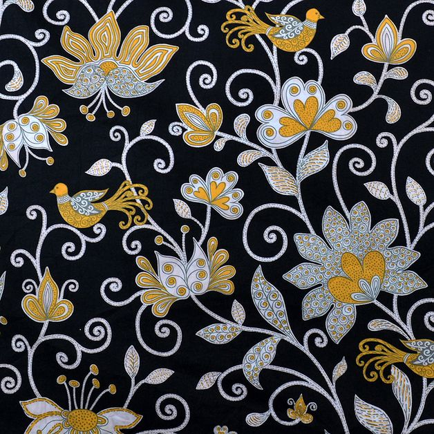 Tela motivos japoneses - Superb tela - 100% algodón impreso - hecho a mano por bou2 en DaWanda